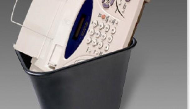 Zeg maar dag tegen je Fax