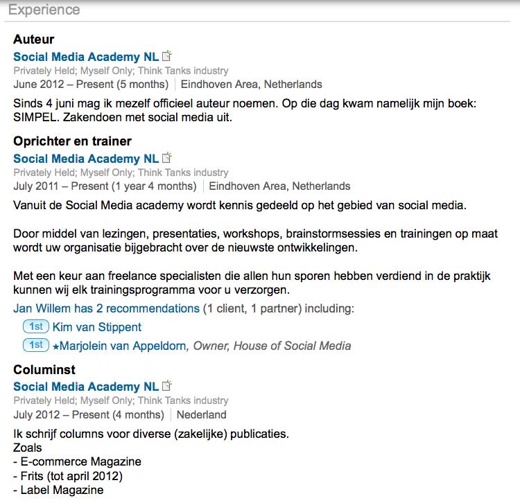 ... LinkedIn | Linkedinpro.nl - LinkedIn tips, trucs, handleidingen en