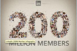 Groei van LinkedIn in Nederland vanaf 2004 – grafiekje