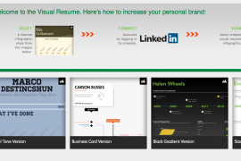 Maak je LinkedIn CV grafisch aantrekkelijk met een Infographic