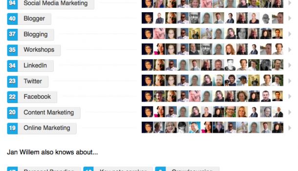 Endorsements op LinkedIn – Wat je er volgens mij aan hebt