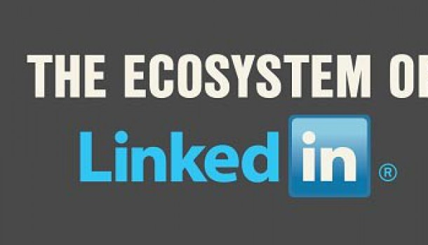 Het eco-systeem van LinkedIn – #infographic