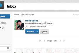 De inbox op LinkedIn krijgt nieuwe layout