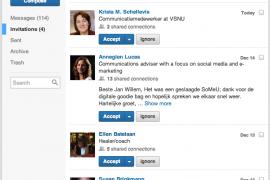 De nieuwe inbox van LinkedIn – nader bekeken