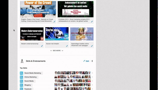 Endorsements op LinkedIn, aan- en uitzetten
