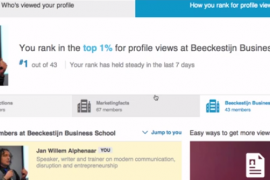Ranking the stars op LinkedIn