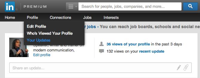 Linkedinpro.nl Statusupdates op linkedin 0