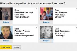 Netwerken op LinkedIn – ga endorsen