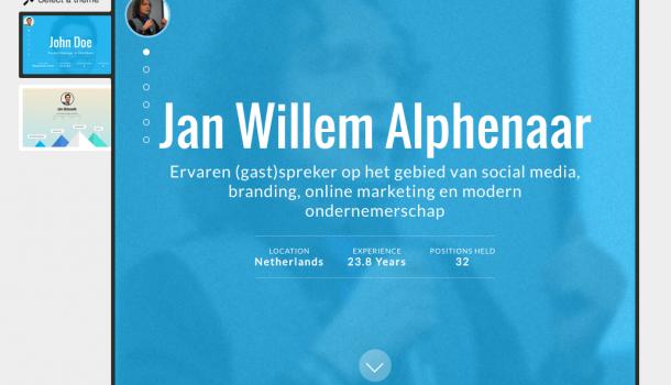 Wow! Zet nu je LinkedIn profiel naar een mooie interactieve SlideShare!
