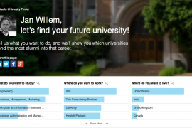 Studiekeuze via LinkedIn? De LinkedIn University Finder helpt