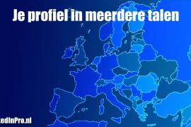 LinkedInprofiel in meerdere talen