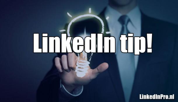 Volgorde van je werkervaring aanpassen in de nieuwe LinkedIn layout